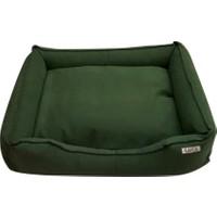 Lepus Soft Yeşil Köpek Yatağı X Large 75x20x95 cm