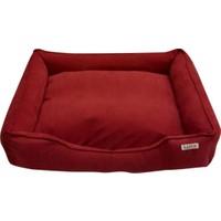 Lepus Soft Kırmızı Köpek Yatağı 75 X 20 X 95