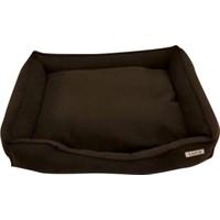 Lepus Soft Kahverengi Kedi Köpek Yatağı Medium 50x20x65 cm
