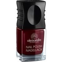 Alessandro Nail Polish Midnight Red 10 ml.