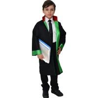 HKostüm Çocuk Avukat Cübbesi - Kostümü 10 - 12 Yaş