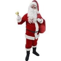 Herkese Kostüm Yılbaşı Noel Baba Yetişkin Kostüm Full Seti Xlarge