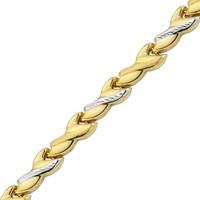 AltınSepeti Altın Taşsız Örme Bileklik AS222BL