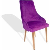 Dockers Stıle Sandalye-Kumas Mor
