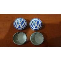 Wolcar Volkswagen Jant Göbeği Universal Mavi 65Mm