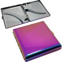 Angelo Spectrum Renkli Çelik Kısa Sigara Tabakası dh99