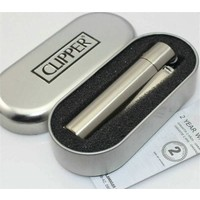 Clipper Metal Çakmak Gri
