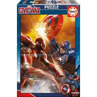 Educa 16699 - Captain America: Civil Wars - 200 Parça Puzzle