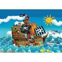 Keskin Color 150 Parça Korsan Gemisi Kutulu Çocuk Yapboz