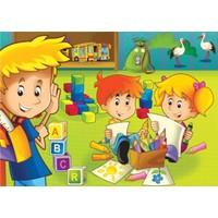 Keskin Color 100 Parça Eğitici Yapboz (Ders Zamanı)