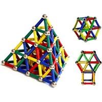 Helen's 74 Parça Manyetik Lego Seti Magnastix