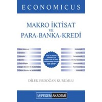 Pegem Akademi Yayıncılık Kpss 2016 A Grubu Economicus Makro İktisat Ve Para-Banka-Kredi Konu Anlatımı