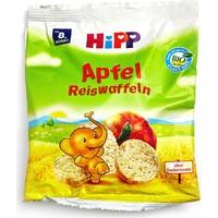 Hipp Organik Elmalı Pirinçli Bebek Gofreti 30 gr
