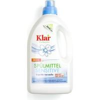 Klar Organik Bulaşık Yıkama Sıvısı - Kokusuz 1.5 Lt.