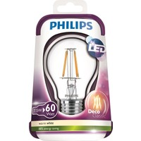 Philips Led Filament 60W A++ Enerji Tasarruflu Ampul E27 Ww A60 Cl Nd/4
