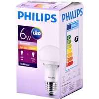Philips Essential Led Lamba 6-42W E27 Sarı