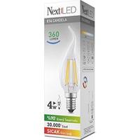 NextLED (Next&NextStar) E14 4W Kuyruklu Gün Işığı Led Ampul