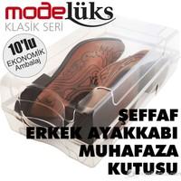Modelüx Klasik Erkek Ayakkabı Kutusu 10'lu