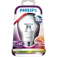 Philips Led Warmglow 40W Ampul E27 Ww 230V A60 Cl D/4