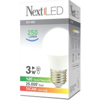 NextLED (Next&NextStar) E27 3W Gün Işığı Led Ampul
