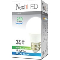NextLED (Next&NextStar) E27 3W Beyaz Led Ampul