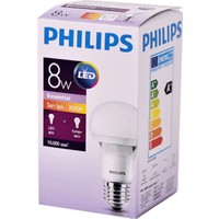 Philips Essential Led Lamba 8-48W E27 Sarı