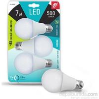 Petrix 7 Watt E27 LED Ampul 3''Lü 220 Derce Işık Açısı
