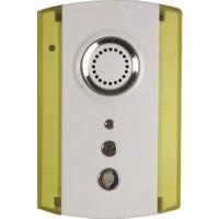 Tek-İş - Kablosuz Kapı Zili - İki Buton - Tek Zil (Beyaz - Sarı)