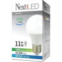 NextLED (Next&NextStar) E27 11W Beyaz Led Ampul