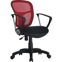 Adore VLT034 Comfort Ultra File Sırtlı Çalışma Koltuğu- Kırmızı