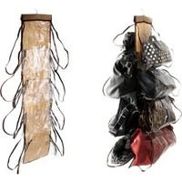 BlueZen Şeffaf Gözlü Dolap İçi Çanta Askısı Purse Store