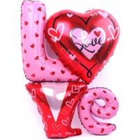 Elitparti Love Folyo Balon (80 cm)