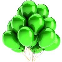 Elitparti Metalik Yeşil Balon (100 Adet)