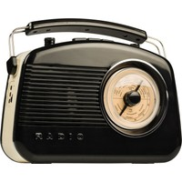 König Hav-Tr800Bl Retro Radio With Bluetooth