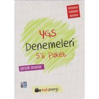 Kafadengi Yayınları Ygs Denemeleri 5'Li Paket