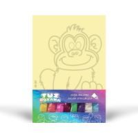 Maymun-2 Tuz Boyama KB-081