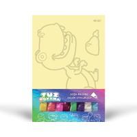 T-Rex Tuz Boyama KB-061