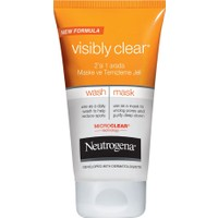 Neutrogena Visible Clean 2In1 Maske Temizleme Jeli 150Ml