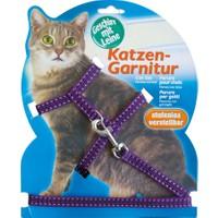 Katzen Kedi Göğüs Tasması Refl. Mor
