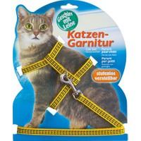 Katzen Kedi Göğüs Tasması Refl. Sarı