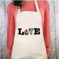 iF Dizayn Love Cupcake Mutfak Önlüğü