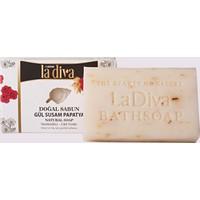 La Diva Gül-Susam-Papatyalı Doğal Sabun 100 Gr