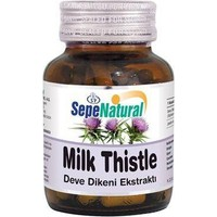 Sepe Natural Sepe Natural Milk Thistle 90 Kapsül X 450Mg   Deve Dikeni Tohum Ekstra