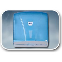 Palex Dispenser Havlu Aparatı Şeffaf Mavi