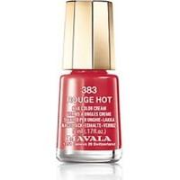 Mavala Nail Color Cream - Oje - Rouge Hot