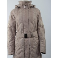 Emmegi - May/P Woman Jacket U1 Kadın Mont (Greige) Gri