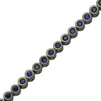 Altınsepeti Gümüş Lacivert Taşlı Suyolu Bileklik Astm020725