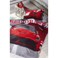 Soley Nevresim Takımı Tek Kişilik Teen Red Dragon