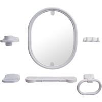 Şenyayla Oval Ayna Seti 6065