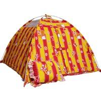 Hopim Çocuk -Sarı-Kırmızı Taraftar Oyun Ve Uyku Çadırı * Pamuklu Ranforce Kumaş